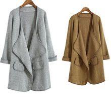 d95691t europe new style turn-down collar women long cardigan cashmere sweater coat Best Seller follow this link http://shopingayo.space