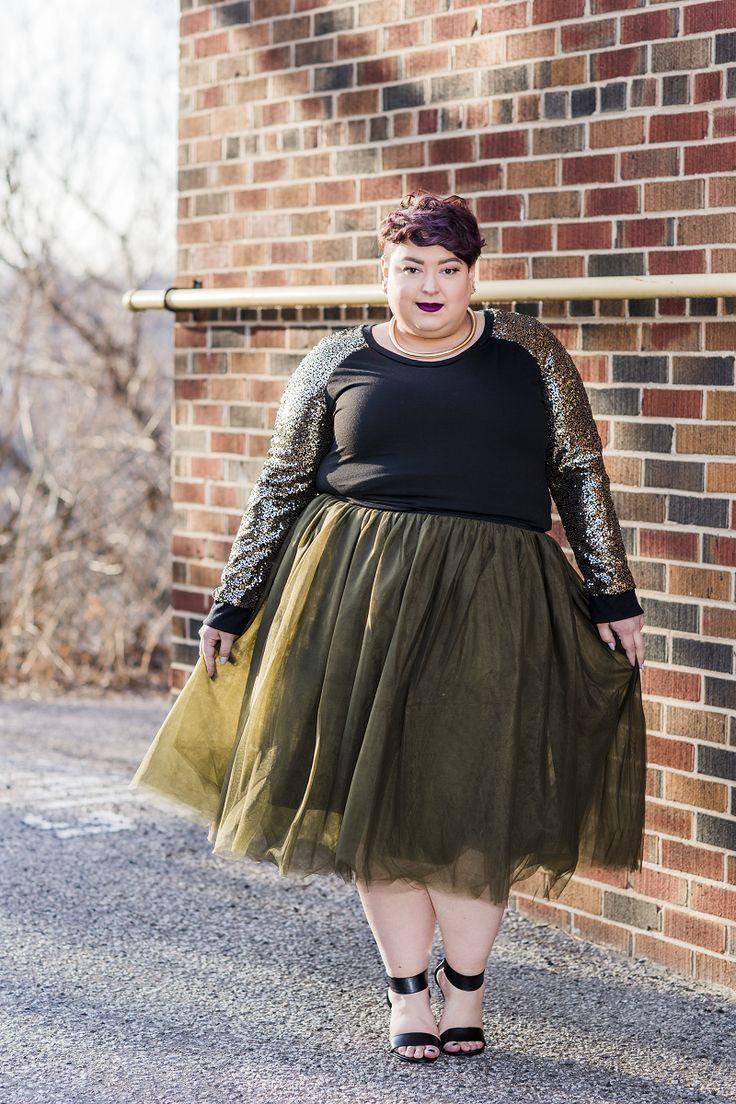 plus size clothing for women  society grace tutu  olive
