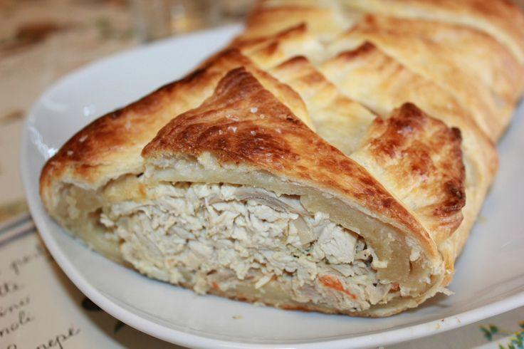 En enkel og deilig kyllingrett, perfekt til lunsj, koldtbord, og også som middag. Serveres med en deilig salat til.