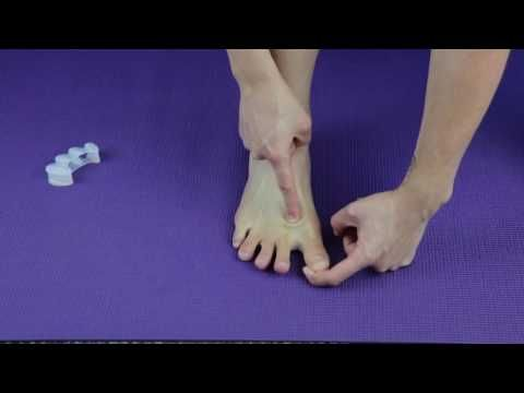 Taping for Bunion Pain Relief NOW! - YouTube                                                                                                                                                                                 More