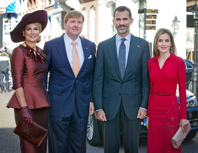 King Felipe and Queen Letizia of Spain visit the Netherlands