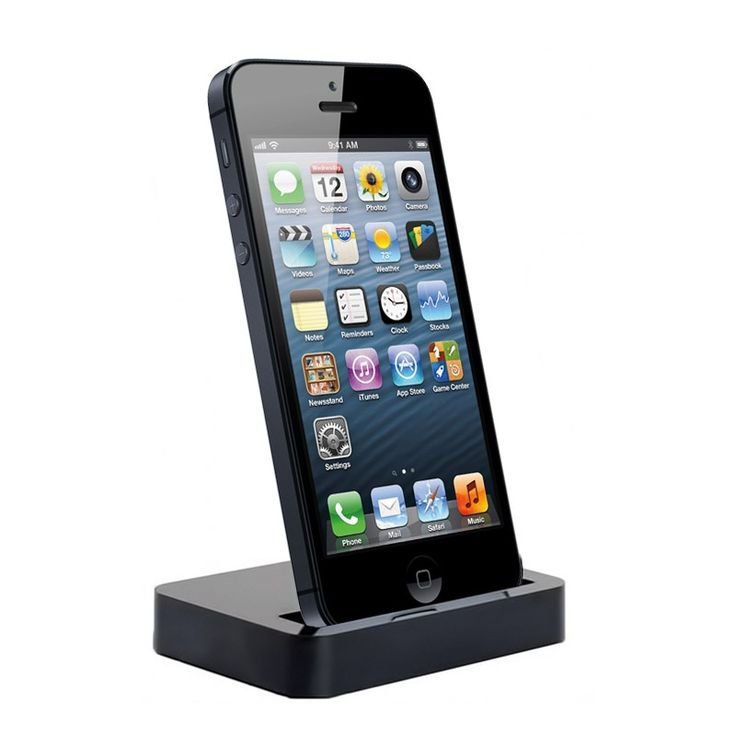 Docking Station & Charger for iPhone 5