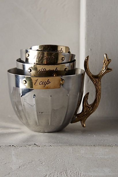 Nordic Elk Measuring Cups - anthropologie.eu
