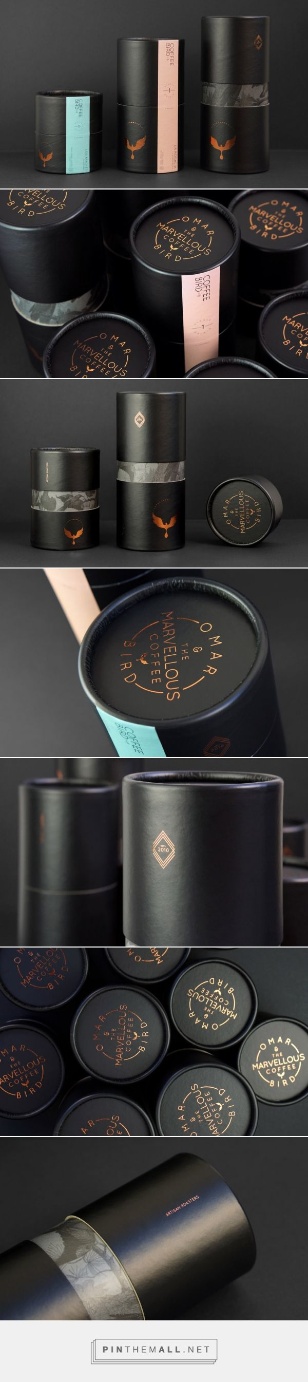 Omar and the Marvellous Coffee Bird Brand Coffee Packaging by Creative Order   Fivestar Branding Agency – Design and Branding Agency & Curated Inspiration Gallery