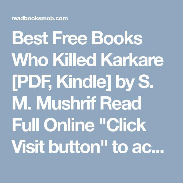 In who hindi pdf killed karkare