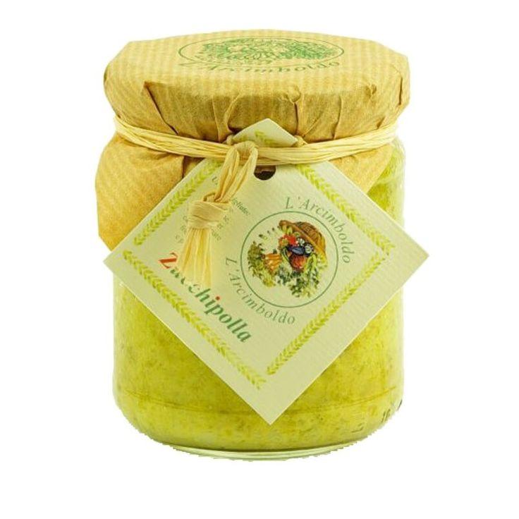 Italian Appetizer Spread with Zucchini and Onion  Italian Food