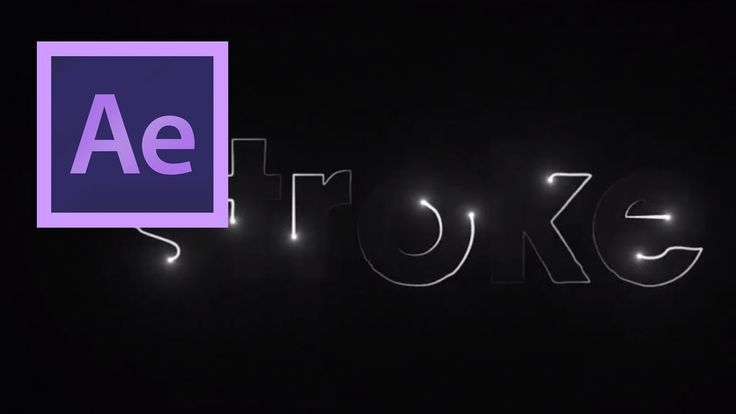 Create Particles Stroke Effect in After Effects