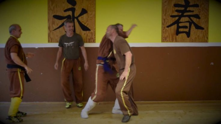 Weng Chun Kung Fu Training