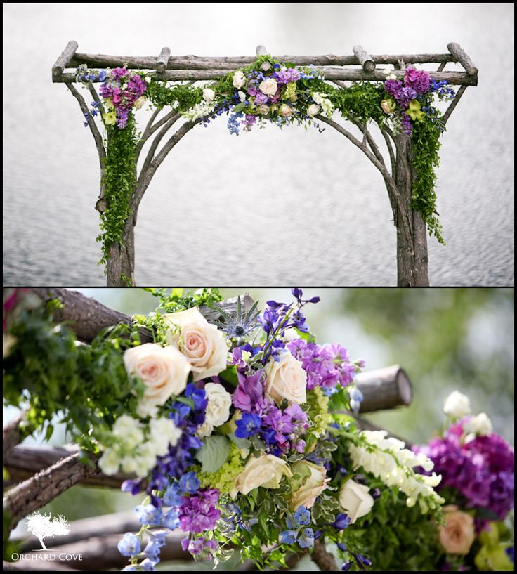 Archway Flowers that I want to do for my wedding