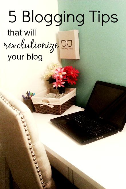 Five Revolutionary Blogging Tips from Bloggy Boot Camp