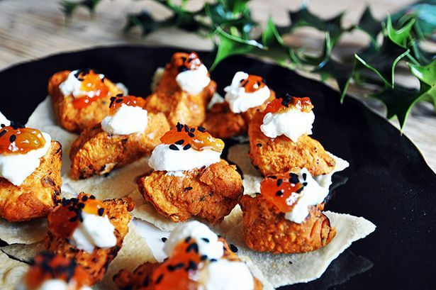Add some spice with tikka canapes