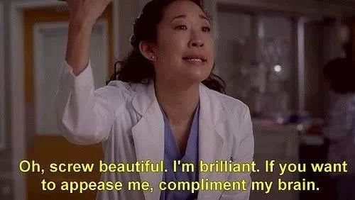 Greys anatomy - Christina's humour