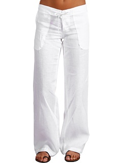 Lucy love linen beach pant. Available in grey and on sale!! @GossipBoutiqueRI