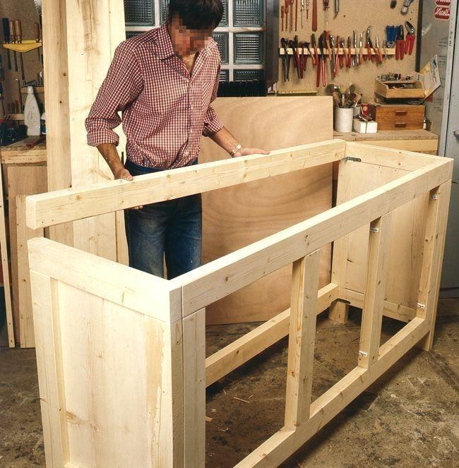 Bois Comment De En Fabriquer Meuble Rangement Bitte Klicken Sie Bitte Klicken Wooden Storage Cabinet Diy Kitchen Cabinets Diy Furniture Plans