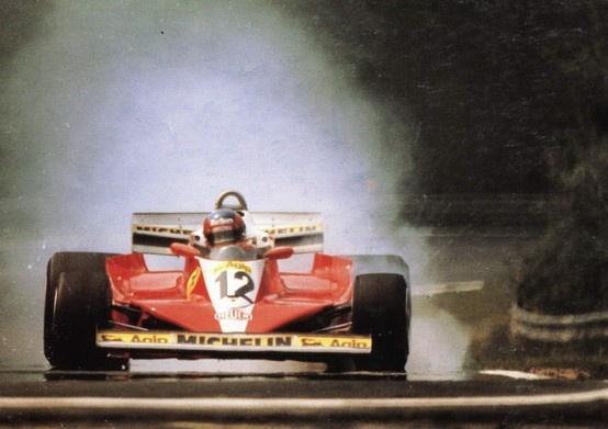 Gilles Villeneuve at Zolder, 1978