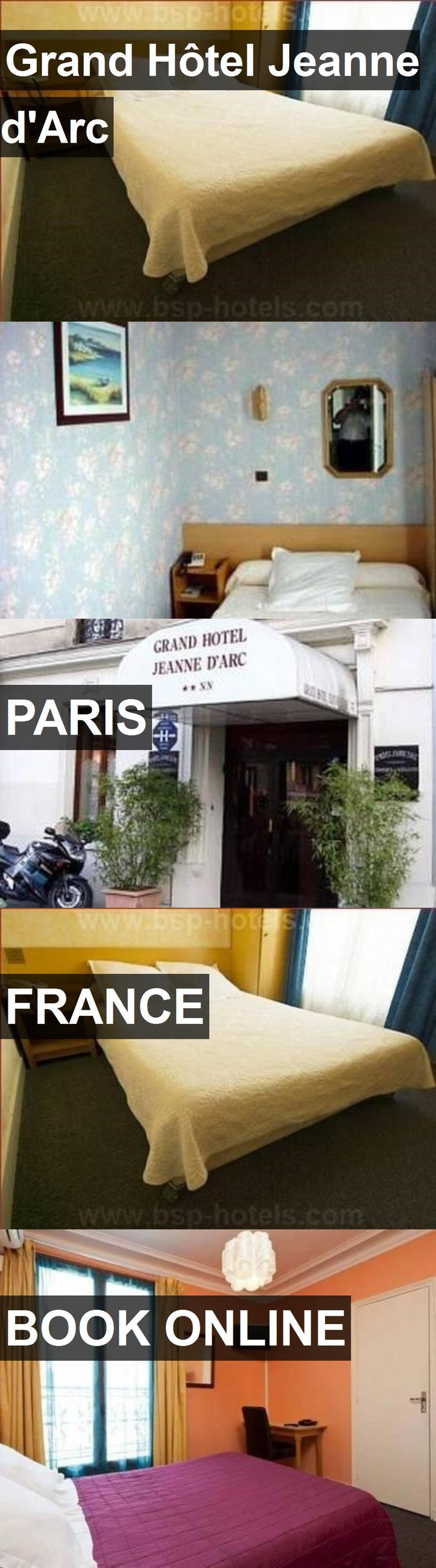 Hotel Grand Hôtel Jeanne d'Arc in Paris, France. For more information, photos, reviews and best prices please follow the link. #France #Paris #hotel #travel #vacation
