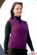 greenland woman's textured sleeveless pullover