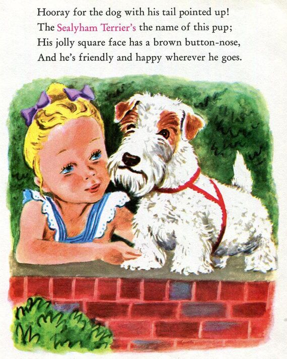 Sealyham Terrier et empreintes de chien Boston Terrier par RoxyRani
