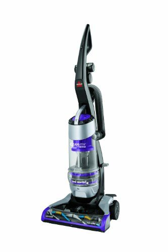 This Bissell vacuum comes with Triple Action Brush Roll | Turbo Brush Tool | Dirt Filter Indicator | Easy Empty Dirt Tank | Multi-Cyclonic | 3-Year Warranty