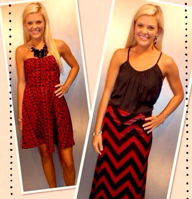 Texas Tech game day outfit at T. C. Ellis in Lubbock