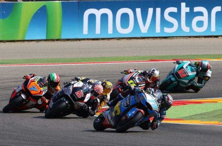 Alex Marquez, Moto 2 race, Aragon MotoGP 2015