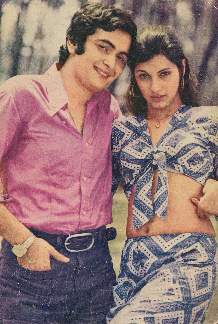 Rishi Kapoor and Dimple Kapadia