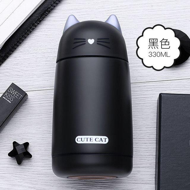 Cartoon Robo Cat Thermo Mug