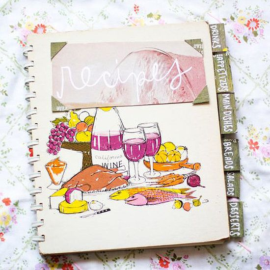 This is such a heartfelt gift that any cook would appreciate. Create a recipe book, and include their favorite recipes. If you can get a hold of them, it's a good idea to add in their secret recipes as well. Source: A Beautiful Mess