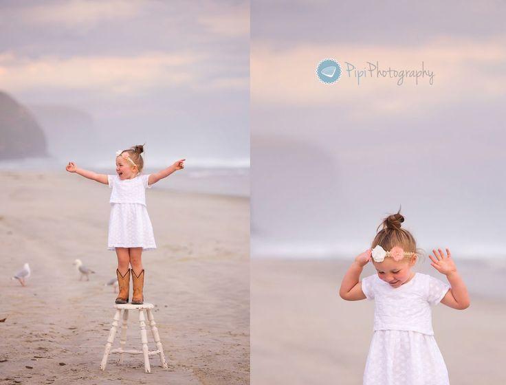 Beach Portrait Session - Pipi Photography - Dunedin Family Photographer