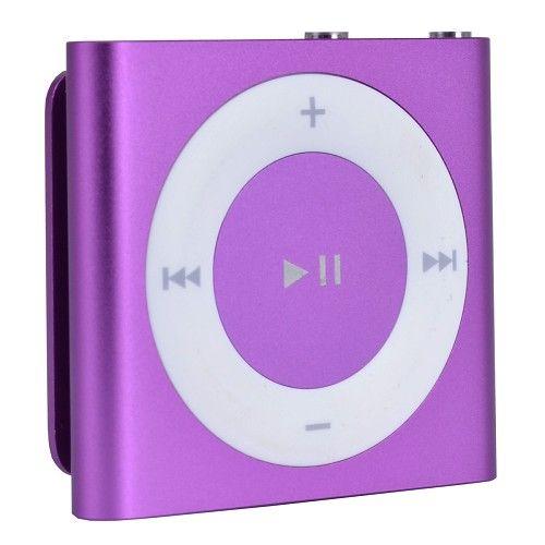 Apple iPod Shuffle 4a Generazione 2GB MP3 Digital Music Player (Viola) MD777CA-RBA Ricondizionato a 39€