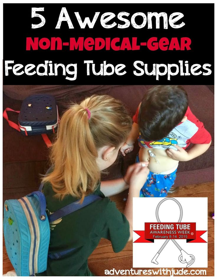 5 Awesome Products for Life with a Feeding Tube #FeedingTubeAwarenessWeek #specialneeds