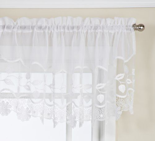 Lorraine Home Fashions Seville Tailored M Valance, 58 by 20-Inch, White Lorraine Home Fashions http://www.amazon.com/dp/B003V57RS4/ref=cm_sw_r_pi_dp_YtVbwb0VXCG42