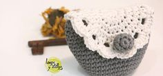 Crochet vintage purse coin free pattern with video tutorial