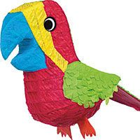 Pirate Party Supplies - Parrot piñata