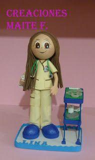 FOFUCHAS. Manualidades y Creaciones Maite: FOFUCHA DOCTORA Especialidad medicina Infantil