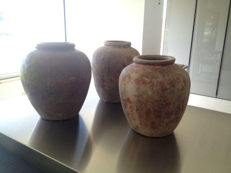 Vecchi vasi terracotta