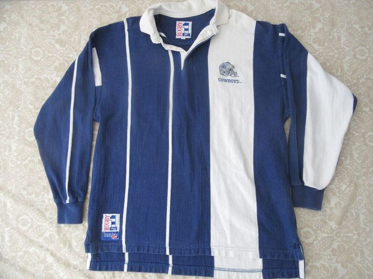 rugby nfl team dallas cowboys  sweater L #rugby #DallasCowboys