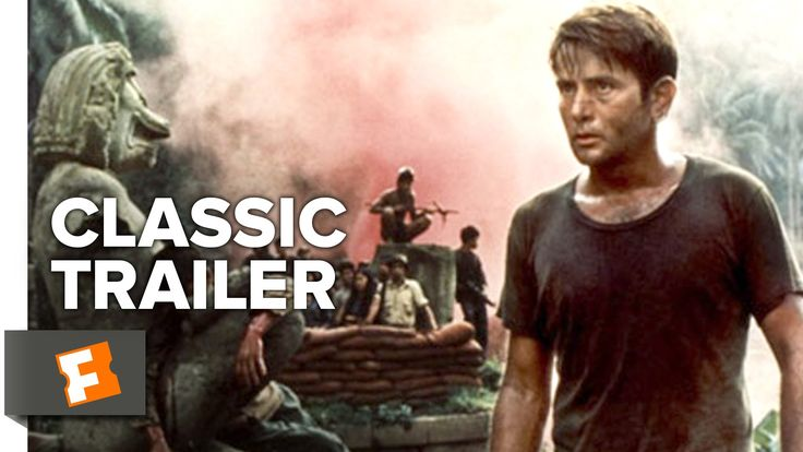 ■ Number 5 ■ Apocalypse Now (1979) ■ During the Vietnam War, Captain Willard is sent on a dangerous mission into Cambodia to assassinate a renegade colonel who has set himself up as a god among a local tribe. (153 mins.) ■ Director: Francis Coppola ■ Stars: Martin Sheen, Marlon Brando, Robert Duvall, Frederic Forrest