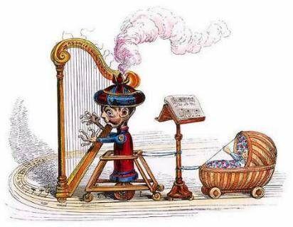 Queen 'Innuendo' harp