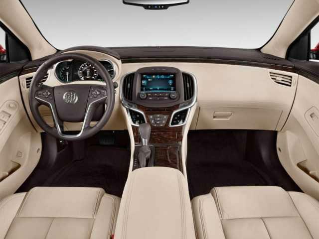 2016 Buick Lacrosse Interior