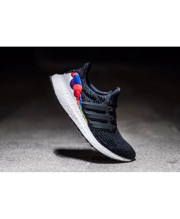 dbb4621ccf4b Adidas Ultra Boost Pride Core Black Utility Black trainers for cheap Sale