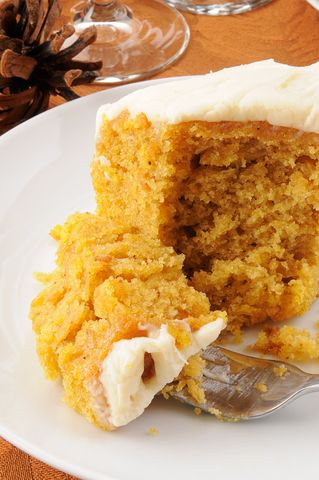 PUMPKIN CAKE: pumpkin (or you can use  any of the following: butternut squash, acorn squash, or kabocha squash), fat (ghee, butter, or coconut oil), eggs, vanilla, honey, cinnamon, ground cloves, allspice, nutmeg, dried ginger, sea salt, baking soda, coconut flour, homemade coconut milk.