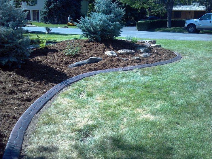 Small garden fencing b q ideas for garden gift basket for Low maintenance garden edging