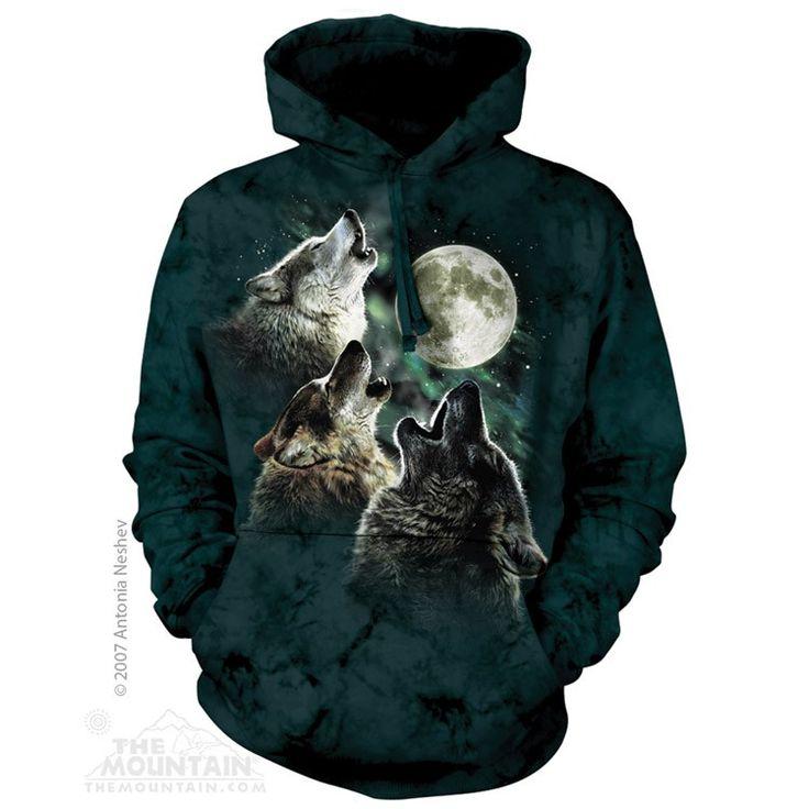 Three Wolf Moon Classic Hoodie Sweatshirt