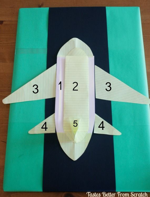 Tastes Better From Scratch: Airplane Cake Tutorial