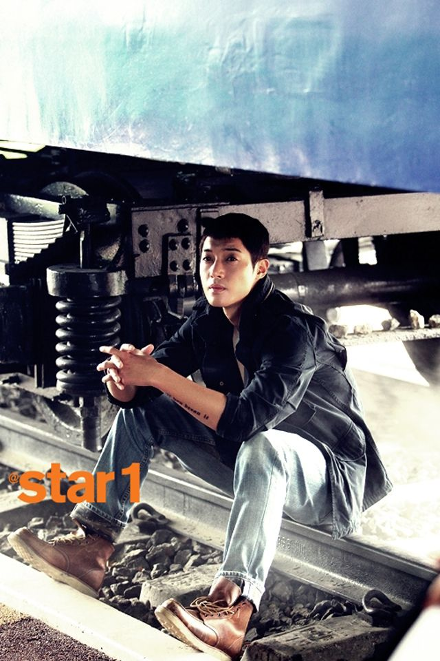 Kim Hyun Joong - @Stacy Wilkins Magazine August Issue '13