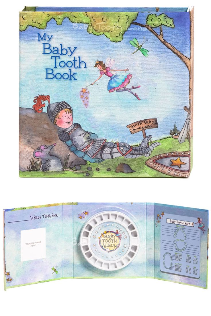Unique baby book to save and cherish baby teeth. Record toothless moments in this charming Baby Tooth Flap Book. Just add photo and baby teeth. Buy online from Baby Tooth Land - Australia NZ.