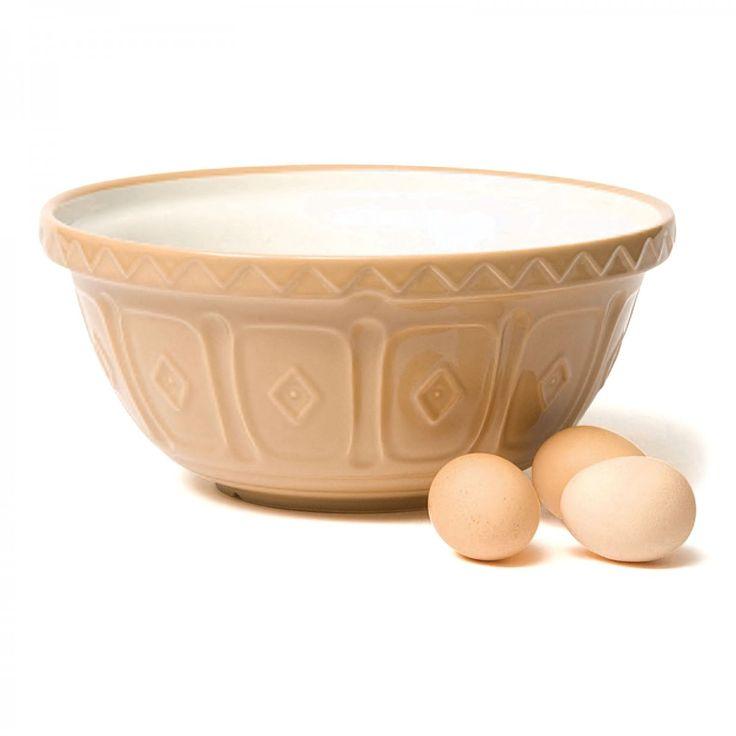Traditional Buff-glaze Mixing Bowl - David Mellor Design #baking #bakeware #cookware