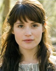 Gemma Arterton has great hair. This picture is from a PBS thing she did, and it's super soft and pretty. In real life she does some pretty dark and heavy hair.