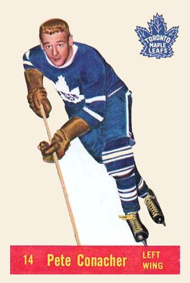 Pete Conacher 1957-58 Parkhurst Hockey Card